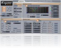 Virtual Instrument : Crystal for Intel-based Macs - macmusic
