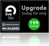 Music Software : Live Lite upgrade offer - macmusic