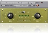 Plug-ins : Tape-Head saturation plug-in for Pro Tools - macmusic