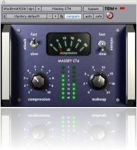 Plug-ins : New CT4 Massey Compressor Plug-In for RTAS & TDM - macmusic