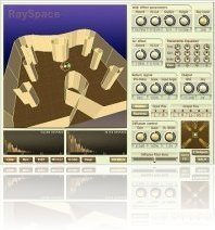 Plug-ins : QuikQuak updates RaySpace to version 2.3 - macmusic