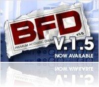 Virtual Instrument : BFD v1.5.45 Universal Binary Demo Version - macmusic