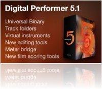 Music Software : DP 5.1 Universal Binary (Intel Mac) Update Now Shipping - macmusic