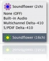Music Software : SoundFlower 1.2 now for Intel based Macs - macmusic