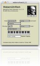 Music Software : WebernUhrWerk released - macmusic