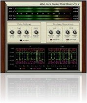 Plug-ins : Blue Cat Audio Releases Digital Peak Meter PRO v2.0 - macmusic