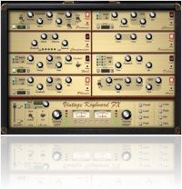 Plug-ins : Vintage Keyboard FX v1.2.3 - macmusic