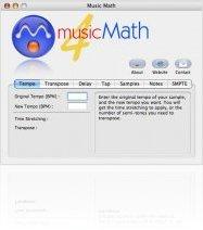 Music Software : MusicMath 4.0 now Universal Binary - macmusic