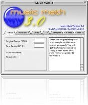Music Software : New MusicMath 3.0 Adds MIDI and SMPTE Calculators - macmusic