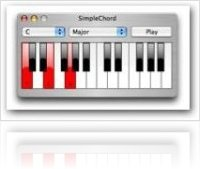 Music Software : SimpleChord updated to 2.1 - macmusic