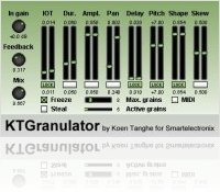 Plug-ins : KTGranulator 1.2 - macmusic