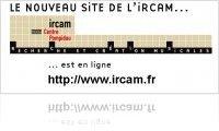 Misc : New IRCAM web site - macmusic
