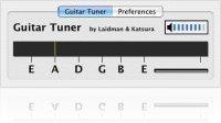 Music Software : Guitar Tuner AU 1.0 - macmusic