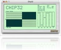 Virtual Instrument : Chip32 ported to OS X - macmusic