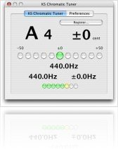 Music Software : Chromatic Tuner in Audio Units - macmusic