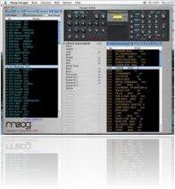 Music Software : Minimoog Voyager Editor finally on Mac - macmusic