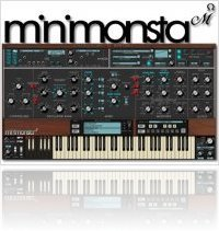 Virtual Instrument : Minimonsta delayed - macmusic