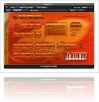 Plug-ins : Prosoniq OrangeVocoder 10th Anniversary Edition - macmusic