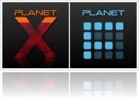 Misc : Planet F and Planet X available for Soniccell - macmusic