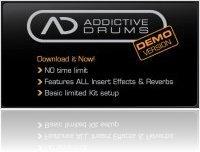 Virtual Instrument : Addictive Drums - demo version - macmusic