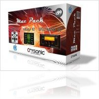 Plug-ins : Crysonic Mac Pack bundle - macmusic