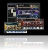 Instrument Virtuel : Sample Logic Synergy - collection d'instruments virtuels - macmusic