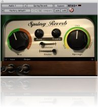 Plug-ins : Softube Spring Reverb - macmusic