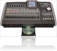 Audio Hardware : Tascam Portastudio 2488neo - macmusic