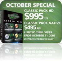 Industry : McDSP Classic Pack Bundle Special - macmusic