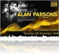 Event : SAE London : Alan Parsons MasterClass - macmusic