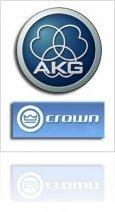 Industry : AKG to distribute Crown Microphones - macmusic