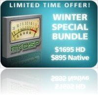 Industry : McDSP Winter Special Bundle - macmusic