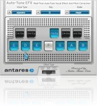 Plug-ins : Antares Expanded Distribution of Auto-Tune EFX - macmusic
