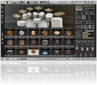 Instrument Virtuel : FXpansion BFD2.1 - macmusic