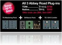 Industrie : Bundle Promo chez Abbey Road Plug-ins - macmusic