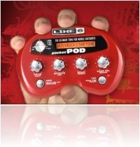 Music Hardware : Line 6 Pocket Pod Pack Now Available - macmusic
