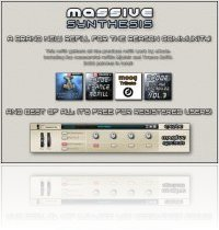 Music Software : Propellerhead Massive Synthesis 0.99b ReFill by eXode MSX - macmusic