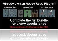 Industrie : Promo Bundle Upgrades chez Abbey Road Plug-ins - macmusic