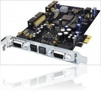 Informatique & Interfaces : RME HDSPe AIO - 38 canaux en 192 kHz au format PCI Express - macmusic