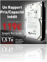 Industrie : Bon Plan MacWay : Disque Dur Seagate 1,5 To - macmusic