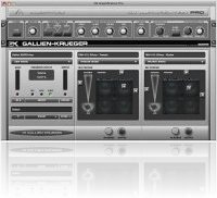 Plug-ins : Audiffex GK Amplification - Virtual Bass Amp - macmusic
