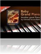 Virtual Instrument : UVI Soundpack Baby Grand Piano - macmusic