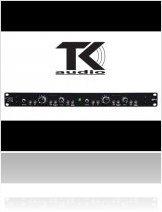 Audio Hardware : TK Audio DP-1 : Dual Preamp - macmusic