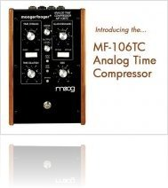 Audio Hardware : Moog MF-106TC Analog Time Compressor - macmusic