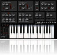 Virtual Instrument : TAL-Elek7ro : A Free Virtual Analog Synth - macmusic