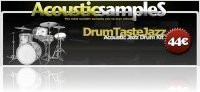 Virtual Instrument : AcousticsampleS DrumTasteJazz now available for SFZ - macmusic