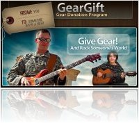 Misc : Sweetwater Launches GearGift Donation Program - macmusic