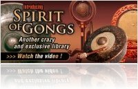 Instrument Virtuel : UVI Soundpack Spirit of Gongs - macmusic