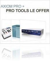 Industrie : Promo Pro Tools LE & Axiom Pro - macmusic