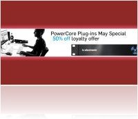 Industry : TC PowerCore Special - 50% Off Loyalty Offer - macmusic